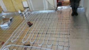 Installation av golvvärme